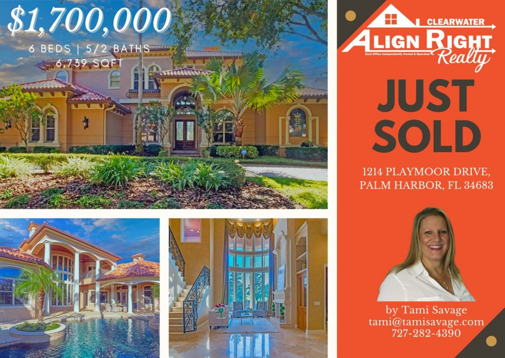 Sold 1.7 Million Dollar Home in 31 Days (on 2nd contract)