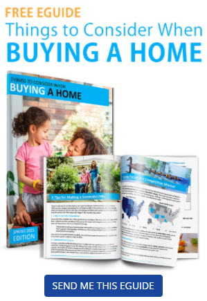 Free eGuide. Things to Consider When Buying a Home. Send me this eGuide.